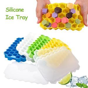 Image 5 - 160 Grids Food Grade Silicone Ice Tray Fruit Ice Cube Maker Diy Kleine Vierkante Vorm Keuken Drankjes Accessoires Ice Cube mold