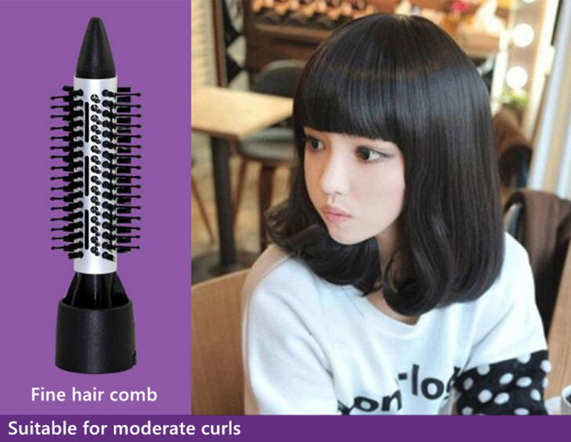 Multifunctional Hair Dryer 7 In 1 Blow Dryer Professional Hairdryer Hair Style Tools with Whold Air Nozzle Hair Dryer Brush 45D