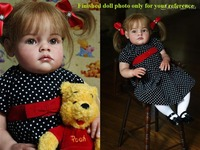 NPK 28''DIY Reborn Doll Mold Kits Silicone vinyl Reborn Doll Kits Unpainted Blank Handmade Doll Kits For Sale