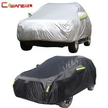 Cawanerl フル車カバー防水全天候太陽雨雪保護抗 UV 防塵屋外 SUV 自動ユニバーサル