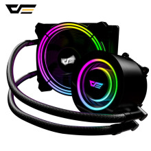 Cooler Radiator CPU 120mm Fan Water-Liquid Darkflash Rgb Sync for 1156/AM3 /AM4