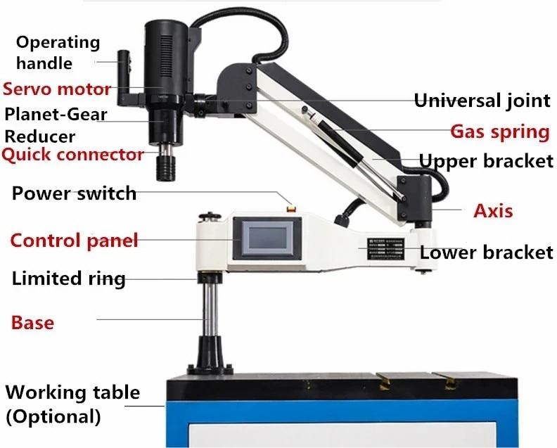Pipe Tapping Machine Self Tapping Screw Machine Tapping Machine