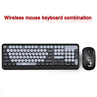 2.4G Wireless Keyboard Mouse Combo English/Russian 104 key gaming keyboard Adjustable mouse for Computer android IOS PC gamers