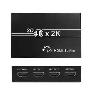 Image 4 - HD 4K HDMI Splitter 1X4 1X2Port 3D UHD 1080p 4K*2K Video HDMI Switch Switcher HDMI 1 Input 4 Output HUB Repeater Amplifier