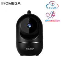 INQMEGA WiFi Baby Monitor Camera 1080P Video Baby Sleeping Baby Cam Audio bidirezionale visione notturna sicurezza domestica Babyphone Camera