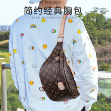 Мужская сумка новая мода на открытом воздухе талии сумка груди сумка Поясная сумка печать сумка анти-кражи мобильного телефона денежный мешок