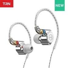 TRN TA1 Hi-FI 1BA+1DD Hybrid (Knowles 33518,8mm Dynamic) In-ear Earphone Drive HIFI Bass Metal Monitor Running Sport Earphone