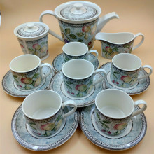 цена на Foreign Trade Exports of the United Kingdom of the Original Single Cherry Series Tea Bowl Teat Cups Plate