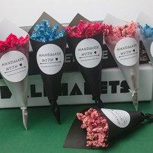 Petites fleurs séchées naturelles Bouquet fleurs sèches presse Mini décoratif photographie Photo toile de fond décoration artisanat bricolage cadeaux emballage