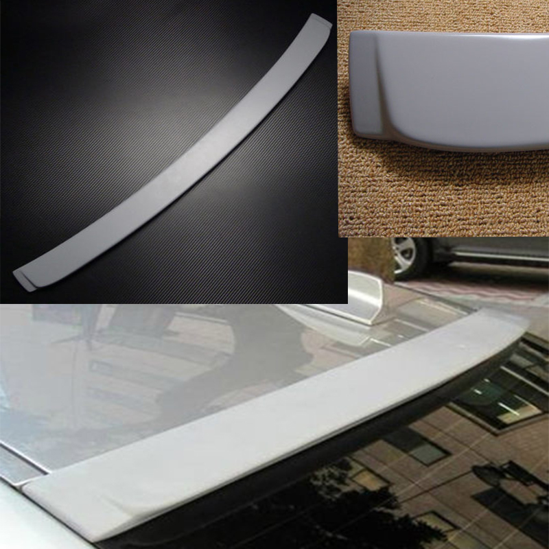 Unpainted E90 PU Rear roof Spoiler Wing for BMW 3 Series E90 2005~2008 image
