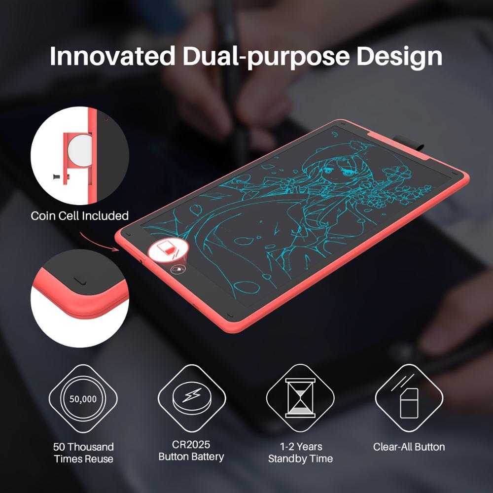 Huion H320M Grafik, Zeichnung, Tablet und LCD Digitalen Schreibtafel Tablet HadWriting Pad mit Batterie freies Stylus für Android /PC - 5