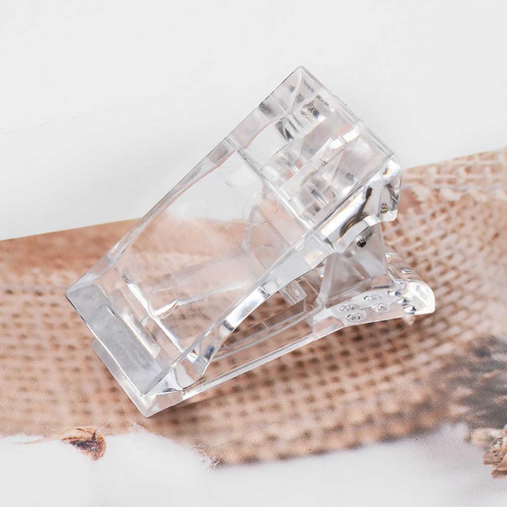5 Stks/set 2019 Hot Nail Tips Clip Quick Building Poly Uv Builder Gel Assistent Tool Diy Manicure Plastic Extension Klem