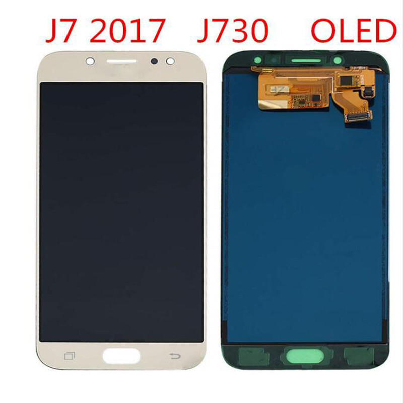 LCD Amoled de haute qualité pour écran LCD Samsung Galaxy J7 Pro 2017 J730G/F/DSM et numériseur d'écran tactile avec outils