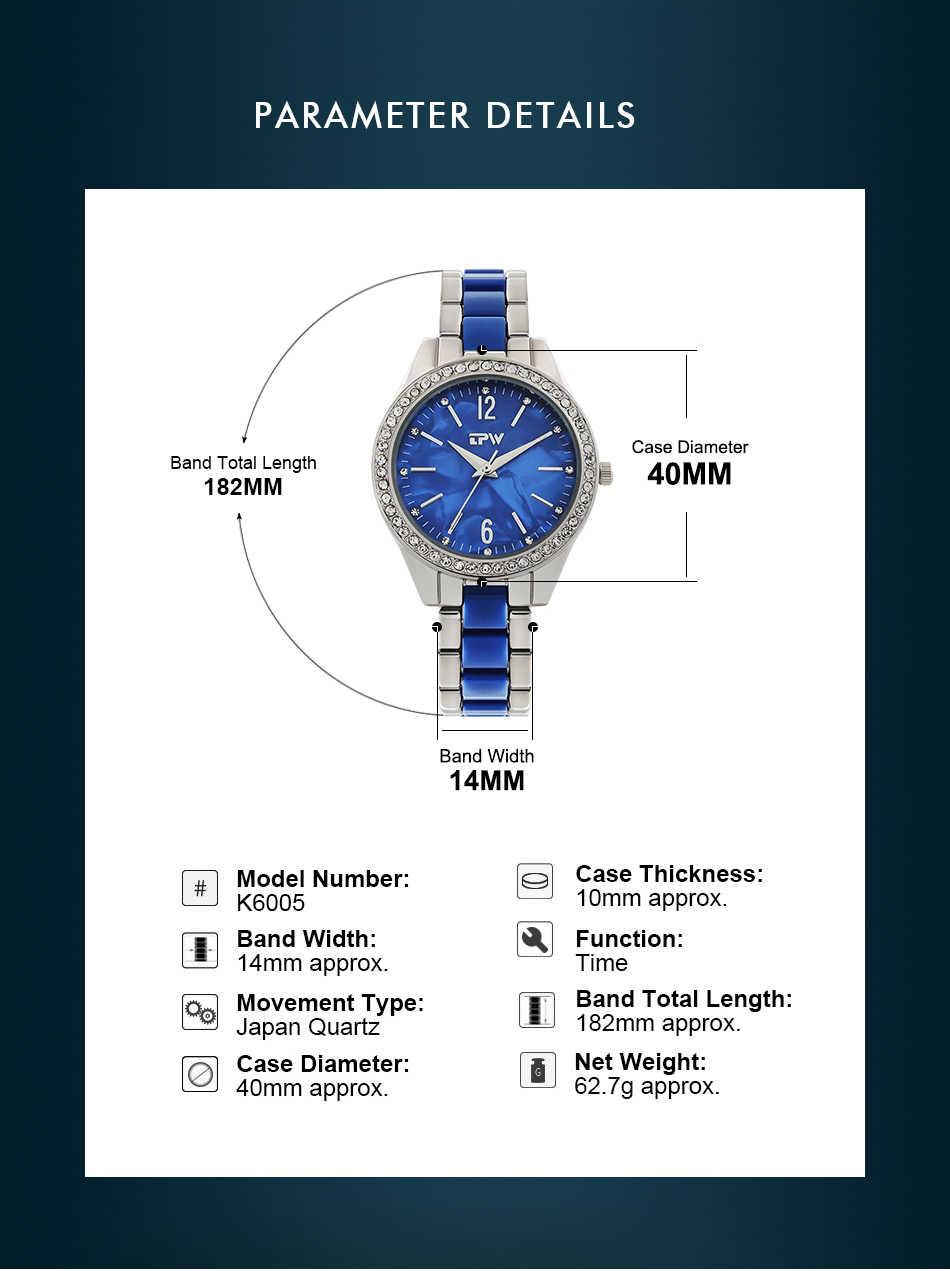 女性ファッションブルークォーツ時計メッシュストラップドレスラインストーン腕時計レディースギフト防水星空腕時計 2019