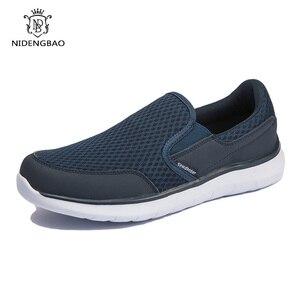 Image 2 - Zapatos de marca para hombre, zapatillas ligeras y transpirables, calzado masculino de alta calidad, zapatos informales de talla grande 49 50