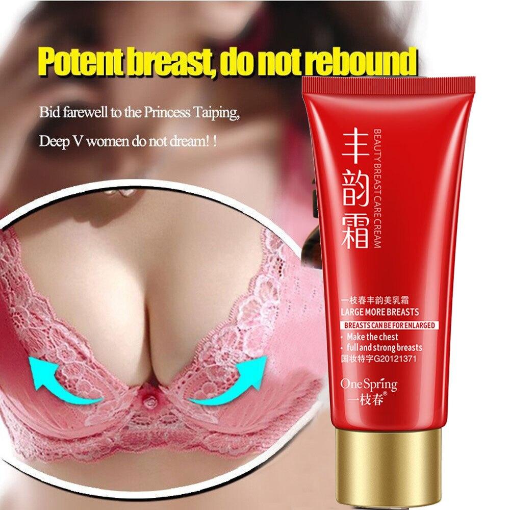 Breast Enlargement Cream Effective Full Elasticity Breast Enhancer Increase Tightness Big Bust Breast Care Cream 60ML GK