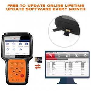 Image 3 - FOXWELL NT650 엘리트 OBD2 자동차 스캐너 지원 ABS 에어백 SAS EPB DPF 오일 서비스 재설정