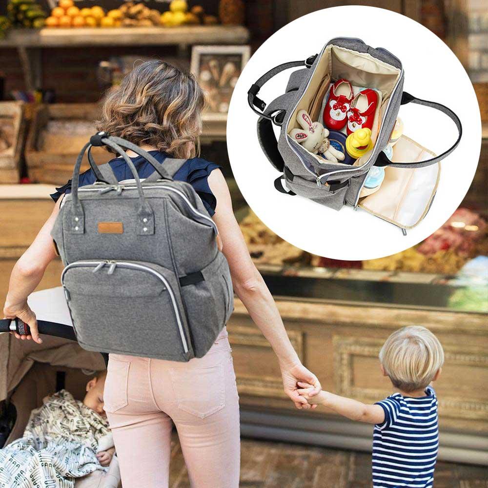 Mummy Maternity Nursing Diaper Bag Baby Care Stroller Carriage Large Capacity Organizer Backpack Travel Nappy Handbag Mochila