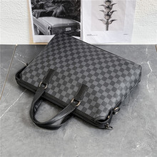 Handbags Briefcase Totes Messenger-Bags Laptop Business Male Men's Brand for High-Quality