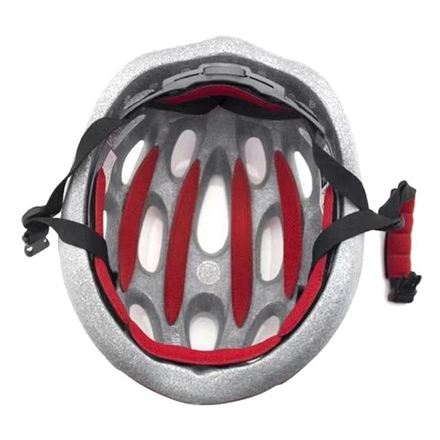 27 pçs universal capacete interno almofadas de espuma estofamento kit selado esponja vermelha para esportes ao ar livre ciclismo acessórios da motocicleta bicicleta 6