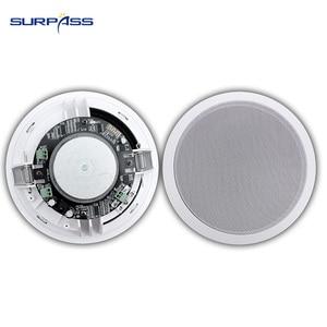 Image 3 - 30w Dustproof חכם Bluetooth בתקרה פעיל רמקולים 6.5 אינץ בית סראונד 2 ערוץ נבנה קיר הר גג רמקול