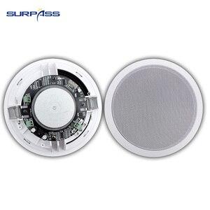"Image 5 - בית 4pcs Bluetooth קיר ב רמקולים תקרה טווח 5.25 ""רמקולים סטריאו אודיו רמקול אמבטיה חנות מלון רמקול"