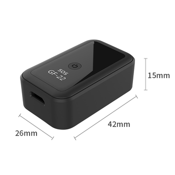 GF22 Real Time Car GPS Tracker Voice Control Magnetic Anti-Lost Auto Vehicle GPS Locator Localizador Mini Gps Tracker image