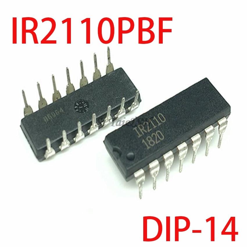 5PCS IR2110PBF DIP14 IR2110 DIP DIP-14 New And Original IC