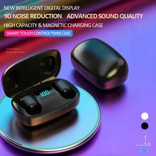 TWS-стереонаушники T10S с поддержкой Bluetooth 5,0 и цифровым дисплеем