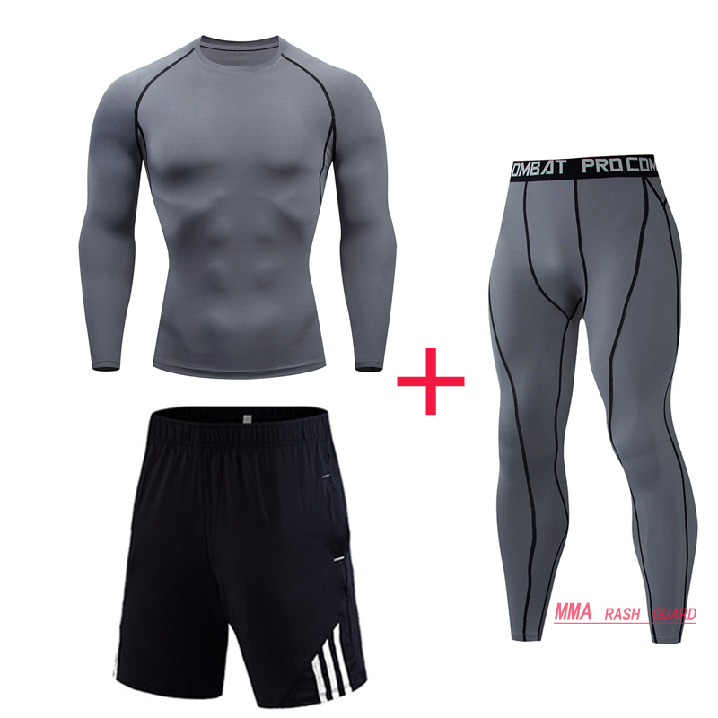 New Brand  For Men Thermal Underwear Sets Compression Sweat Sweats Quick Drying Thermal Fo Men's Suits Long Johns For Men