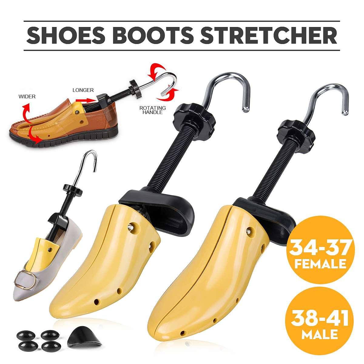 1 Piece Shoe Trees Wood Shoes Stretcher Wooden Adjustable Man Women Flats Pumps Boot Shaper Rack Expander Trees Size 34-41