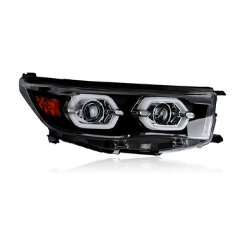 Car Styling for Toyota Highlander Headlights 2015-2017 New Kluger LED Headlight drl Lens Double Beam H7 HID Xenon