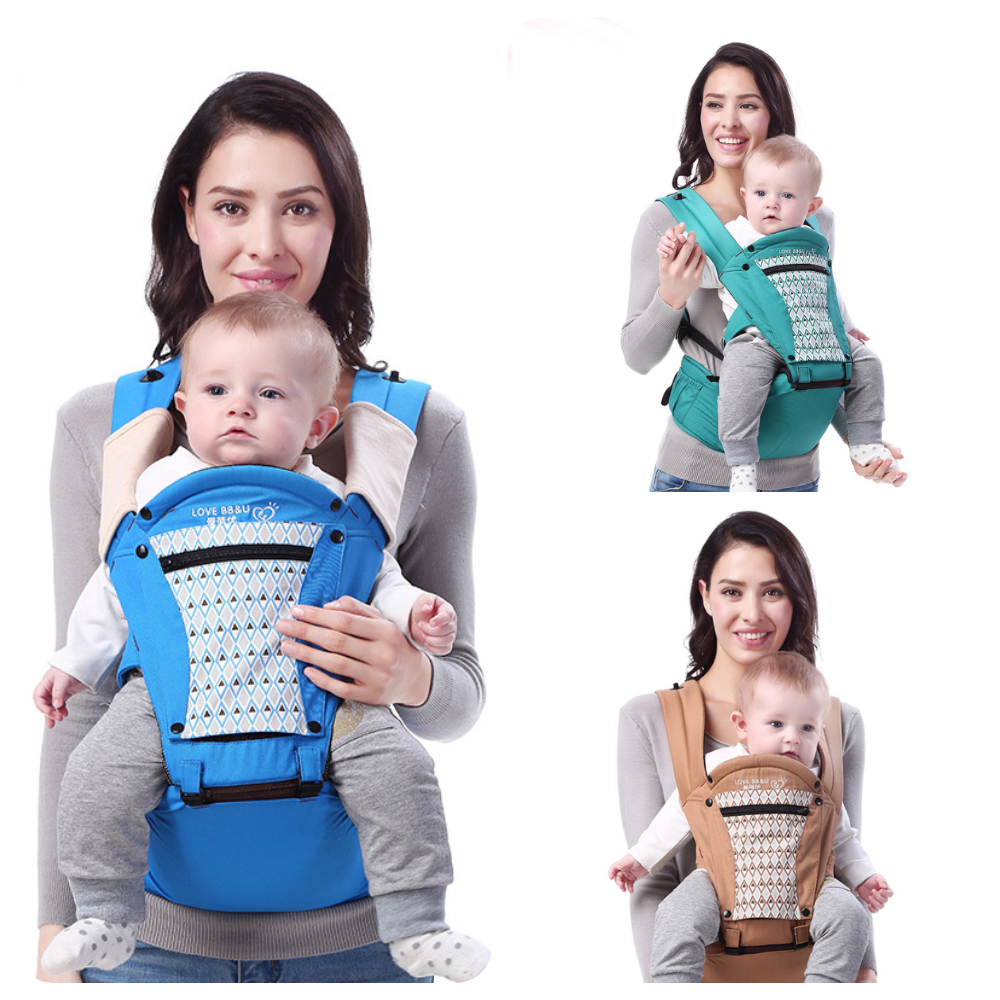 Multifunction Baby Carrier Ergonomic Infant Waist Stool Baby Mommy Travel Taking Sling Portable Harness Baby Carrier 0-36 Mon