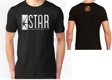 STAR Laboratories T Shirt Top The Flash TV Series S.T.A.R. Labs Ladies Tee Shirt Camisetas Cotton Clothing For Men Women S-2XL(China)