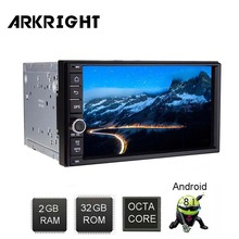 ARKRIGHT 7 2 Din 32GB Car Radio  Android 8.1 Autoradio Wifi HD GPS Support Steering Wheel Control/Car player/car receiver