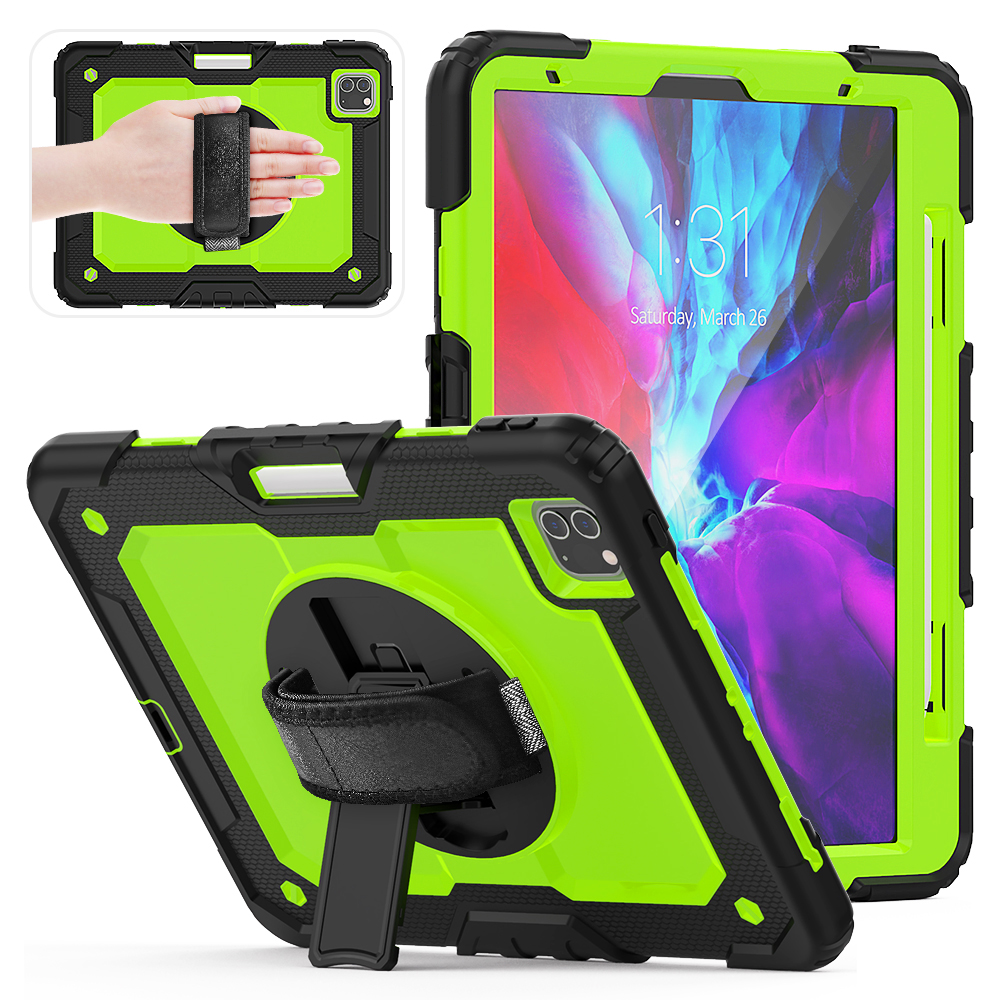 Green Blue 2020 iPad Pro Case For 2018 iPad Pro 12 9 inch Case With Pencil Holder Cover