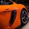 Для Porsche 981 Boxster (2013-2016) вентиляционные отверстия из углеродного волокна автонастройка для Boxster 981 Carbon GT Air Tntake (GT 4 буквы)