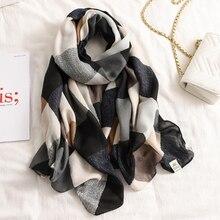 2020 роскошный кашемировый шарф зимние женские шали из пашмины