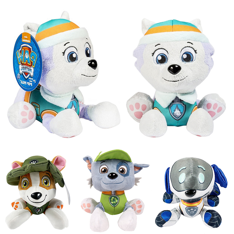 20 Cm Paw Patrol Dog Plush Robo-Dog Doll Anime Kids Toys Action Figure Plush Doll Model Stuffed And Plush Animals Toy Gift