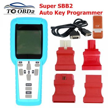 Newest Super SBB2 key programmer sbb 2 scanner TMPS programmer for immobilizer+mileage adjustment+oil+service reset+TPMS EPS+BMS