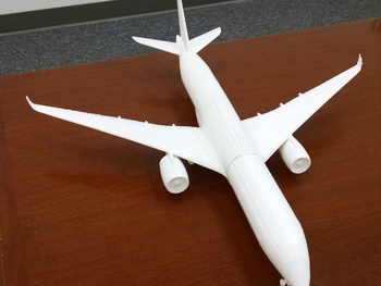 Sci-fi aircraft Custom order high quality high precision digital models 3D printing service Classic objects ST2112