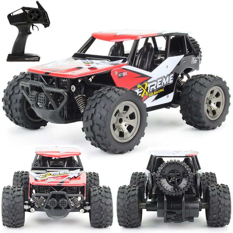 Rc Car 2.4G Radio Control Buggy Climbing Off-Road Trucks 1: 18 High Speed Remote Control Car Toys For Children Boys Gifts
