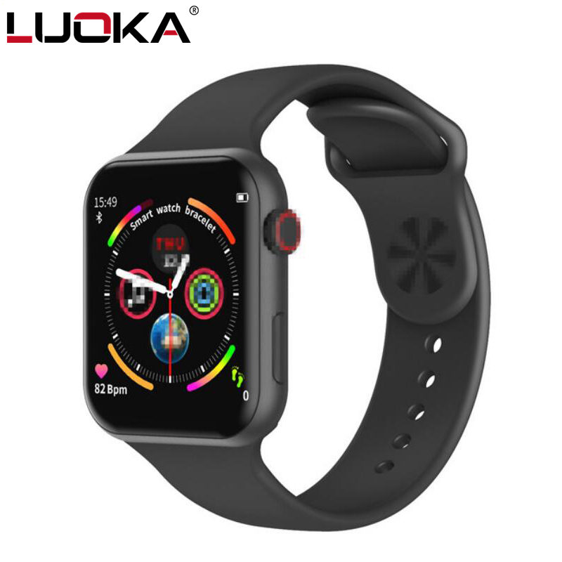 F10 Smart Watch Full Touch Screen Heart Rate Blood Pressure Sports Tracker Fitness For Apple IOS Android PK Iwo 8 9 10 W34 W88
