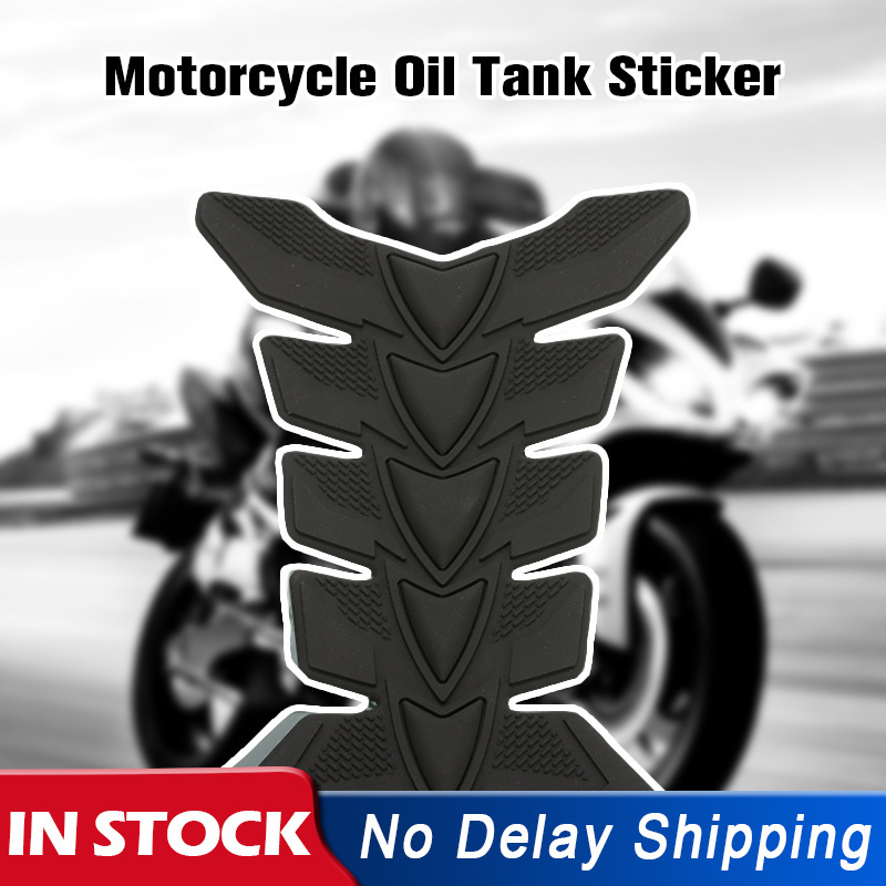 3D Rubber Motorcycle Modified Fuel Gas Tank Pad Protector Decal Sticker New
