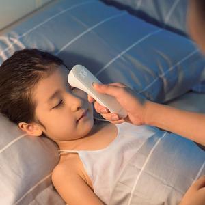 Image 4 - شاومي Mijia iHealth ميزان الحرارة اليد دقيقة الرقمية حمى الأشعة تحت الحمراء السريرية ميزان الحرارة عدم الاتصال قياس LED هو مبين