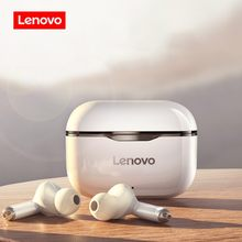 NEUE Original Lenovo LP1 TWS Drahtlose Kopfhörer Bluetooth 5,0 Dual Stereo Noise Reduktion Bass Touch Steuerung Lange Standby 300mAH