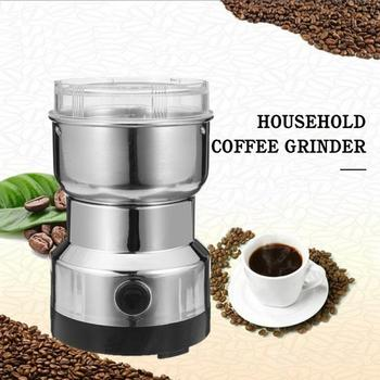 New Grains Spices Hebals Cereals Coffee Dry Food Grinder Mill Grinding Machine Gristmill Home Medicine Flour Powder Crusher image