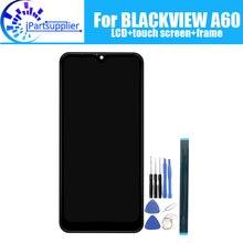 BLACKVIEW A60 LCD ekran + dokunmatik ekran 100% orijinal test LCD Digitizer cam Panel yedek BLACKVIEW A60 PRO