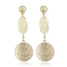 2019 Hot Sale Water Drop earings Women Tassel Earrings Oorbellen Aretes Metal Long oorbellen aretes de mujer