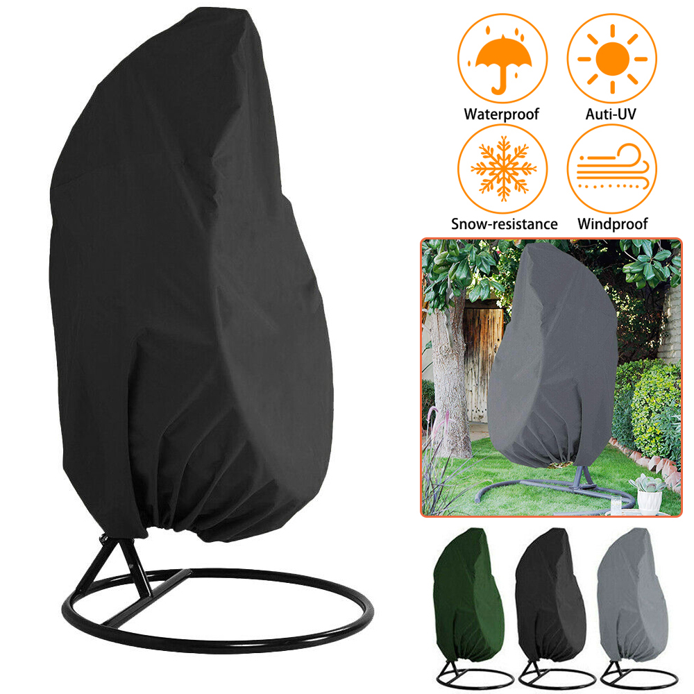 Garden Hanging Swing Chair Cover Chair Dustproof Cover Sofa Waterproof Rain Garden Outdoor Protective Case Furniture Cover D30